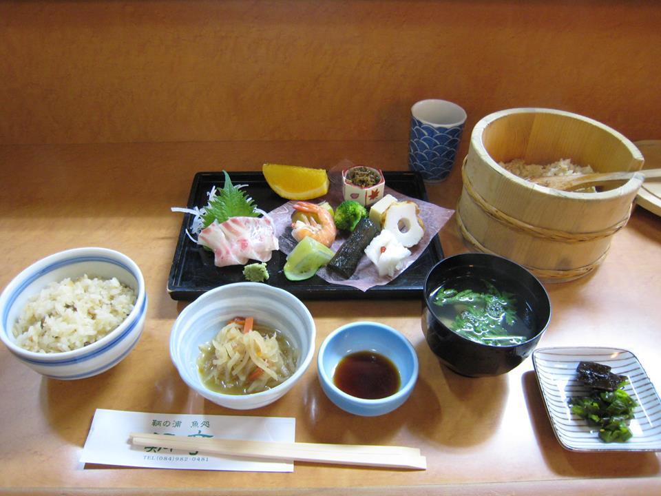 福山市鞆町のランチ・昼食「鯛亭の鯛めしデラックス」