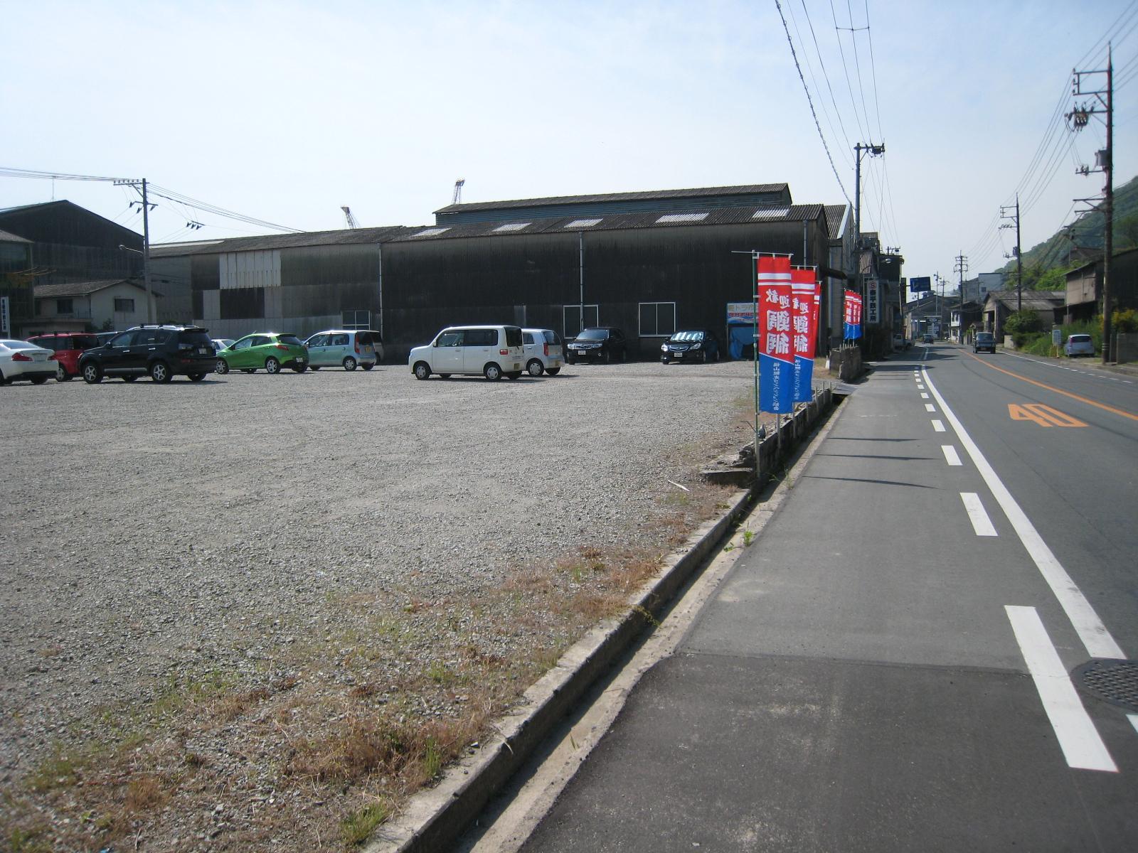 福山市 鞆の浦弁天島花火大会の駐車場2014