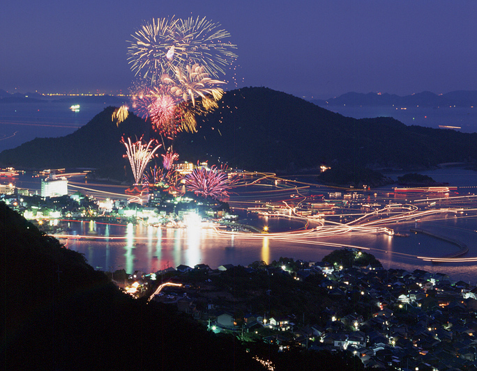 鞆の浦花火大会の交通規制2015