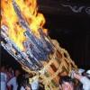「お手火神事2018」が福山市鞆町の沼名前神社で開催!~開催日時、臨時バス時刻表。お手火神事の「いわれ」も解説