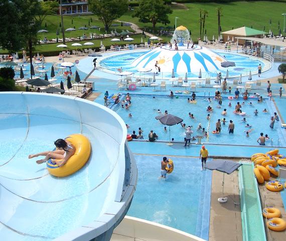 福山市みろくの里のプール2015年開催情報