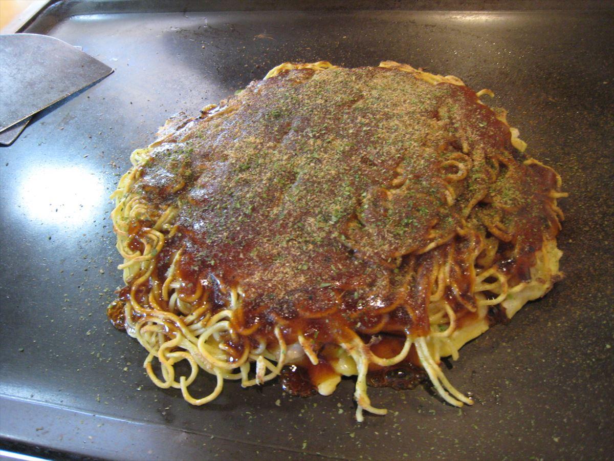 福山市水呑町でランチ・昼食「お好み焼き つくし」