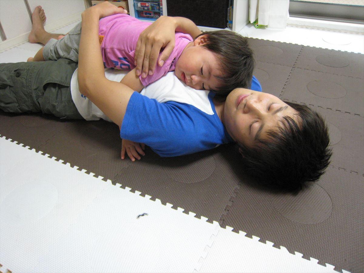 子どもと遊び疲れたため、本日のブログはお休みします