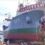 一般の方も見学OK!福山市鞆町の本瓦造船で進水式が11月7日(金)に