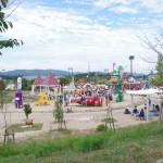 福山市内から車で1時間38分、2歳児が遊べる「みよし あそびの王国」