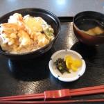 福山市鞆町のランチ・昼食「千とせの鯛茶漬け御膳と天丼」