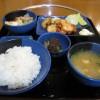 福山市鞆町でランチ・昼食「ニューともせんの鶏からあげ定食」