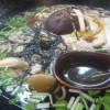 福山市鞆町でランチ・蕎麦「十割そば処 三代目作十、きのこ蕎麦」