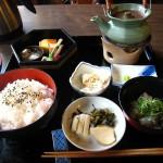 福山市鞆町でランチ・カフェ「御船宿いろは 鯛いろは丸御膳」