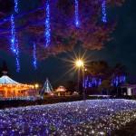 福山市みろくの里のイルミネーション2014~星空の下の遊園地~