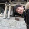 2014年最後の軽トラ市が終了。沼名前神社の御礼清掃