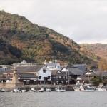 20年ぶりに福山市の走島(はしりじま)へ!船上からの鞆の景色が格別