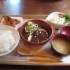 福山市水呑町でランチ・カフェ「モンキー食堂の和牛たんシチュー定食」