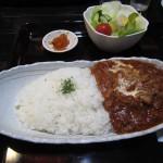 福山市鞆町でランチ・カフェ「茶房 田渕屋のハヤシライス」