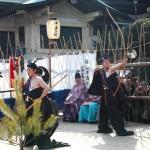 福山市鞆町で「お弓神事」が開催されます(2015年2月15日)