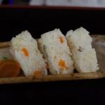 鞆の浦花火大会で「鯛飯むすび・お弁当」を販売!(季節料理 衣笠)