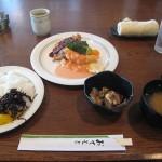 福山市新涯町のランチ、喫茶店「絵馬里」