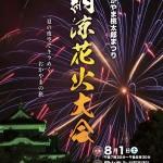 岡山市の花火大会「おかやま桃太郎まつり納涼花火大会2016」