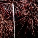 尾道市因島の花火大会「村上水軍まつり大筒花火披露2016」