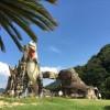 福山市から車で40分、笠岡市の恐竜公園(カブトガニ博物館)