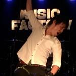 福山ミュージックファクトリーでライブ