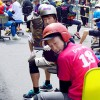 福山市の宮通りにて「いす-1グランプリ」が開催(2015年9月5日)
