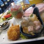 福山市西新涯町のフレンチ食堂「ビストロ ボントレ」