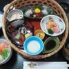 福山市鞆町、季節料理 衣笠の「雛ご膳(期間限定)」