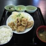 福山市南手城町のランチ、お食事処「昼定食堂おたぬき」