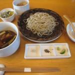 福山市明治町の蕎麦と河内鴨料理の店「さらざん(Sarrasin)」