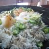 ちりめんグルメプロジェクト#11「阿藻珍味 鯛匠の郷の釜あげしらす丼」