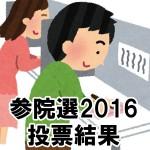 参議院選挙2016「広島県選挙区 開票速報・投票結果」