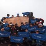 カープの日本一を祈願して?日本一の富士山に登ってきました!!