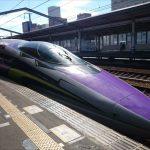福山駅から新幹線エヴァンゲリオンに乗ってきました!