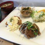 福山市多治米町のランチ、定食屋「陽まわり食堂」~7品楽しめる日替り定食、各種定食、中華そば