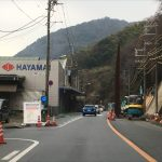 福山市鞆町の県道が一部区間通行止めに~2月20日(月)鞆鉄鋼団地の中道が迂回路に