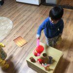 子ども用、手づくりモグラ叩きの作り方~15分で作成!手作りおもちゃ第4弾