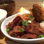 福山市大門町のランチ、定食のお店「だるまやカフェ(DARUMAYA CAFE)」~大門唐揚げと焼肉のボリューム満点の定食で満腹必至