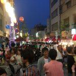 福山市、福山駅前の「毎土夜店2017」に行ってきた!~毎週土曜日、今年も宮通り周辺にて6月3日~8月19日迄開催!