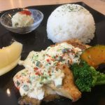 福山市東手城町のランチ、カフェ「フォーシーズン(FOUR SEASON)」~サラダバー付の4種のランチが楽しめる