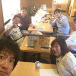 チーム「軽トラ市」の早朝ミーティング~6周年記念イベントの概要決定!