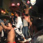鞆の浦の7年に1度の秋祭り「チョウサイ」2017の2日目の備忘録~奇跡的に晴れた土曜日の夜
