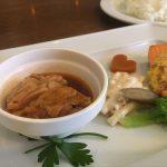 福山市南蔵王町のランチ「欧風食堂ル・コック」~お肉とお魚の盛り合わせ、日替りル・コックランチ