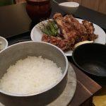 福山市南蔵王町のランチ「祭り鶏もんど」~釜で出てくるご飯、鶏唐定食が666円で!