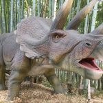 福山市みろくの里のダイナソーパークに行ってきた!~子どもが本物と間違うくらいリアルな恐竜17種