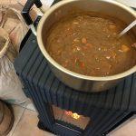 平成29年最後の社長ランチ会~同じ釜の飯を食べる!ペレットストーブを使った手作りチキンカレー