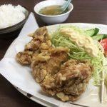 福山市地吹町のランチ「まごごろ中華食堂」~お昼のランチ「唐揚げランチ」を堪能