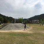 岡山県玉野市にある公園「みやま(深山)公園」~1歳の子どもから遊べるわんぱく広場。福山市内から車で1時間25分。