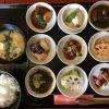 福山市川口町のランチ「味処ひととき」~海鮮、お肉、野菜をバランスよく使用した9品膳