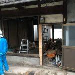 福山市鞆町の空き家再生プロジェクト第3弾!~vol.3床を完全撤去。徐々にスケルトン状態に